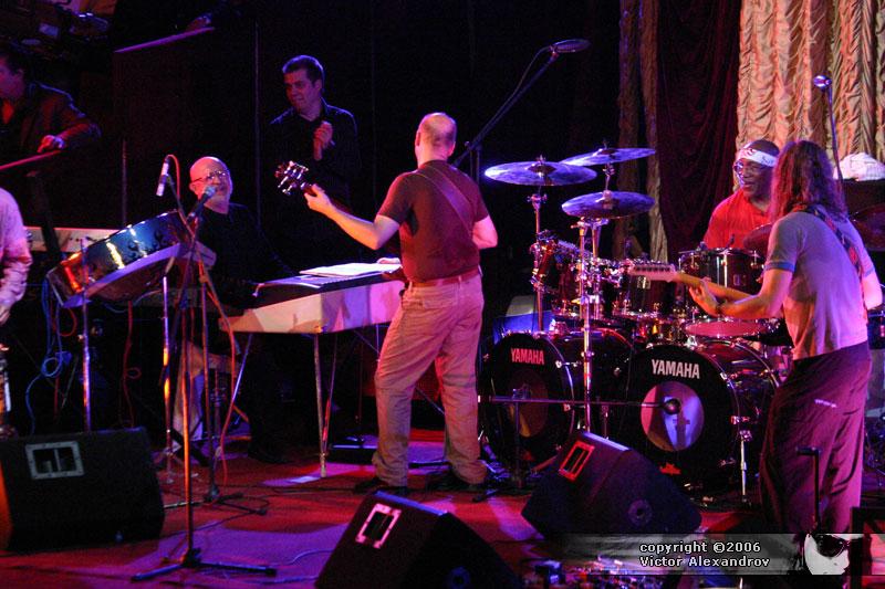 Billy Cobham's Culture Mix & Milcho Leviev