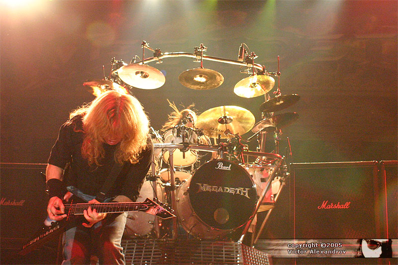 Dave Mustaine & Shawn Drover