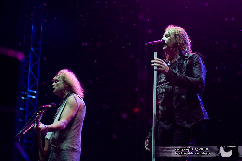 Joe Elliot & Rick Savage