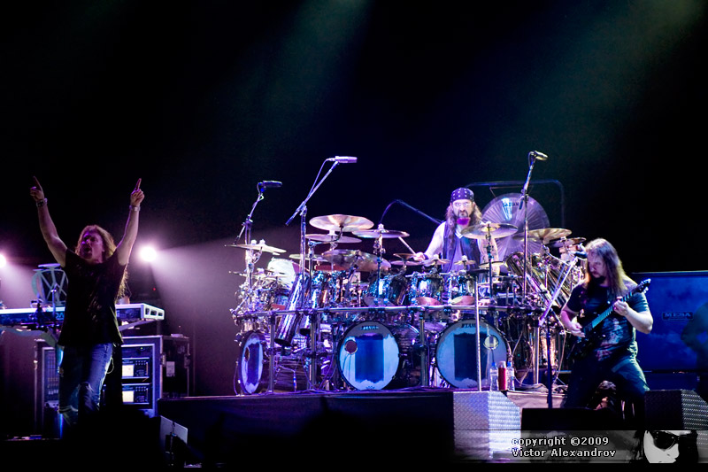 James LaBrie, Mike Portnoy & John Petrucci