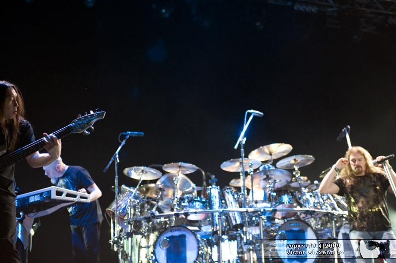 John Myung, Jordan Rudess & James LaBrie