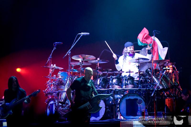 John Myung, Jordan Rudess & Mike Portnoy