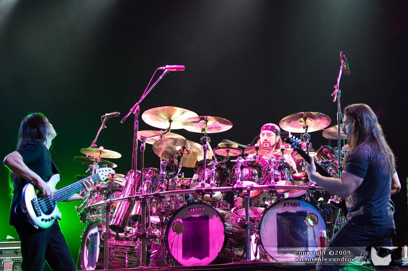John Myung,  Mike Portnoy & John Petrucci