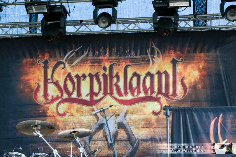 Korpiklaani backdrop