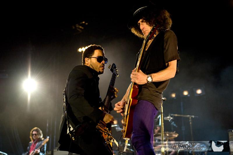 Lenny Kravitz & Craig Ross
