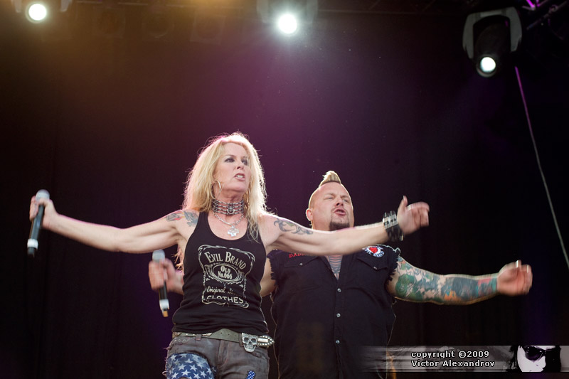 Lita Ford & Jim Gillette