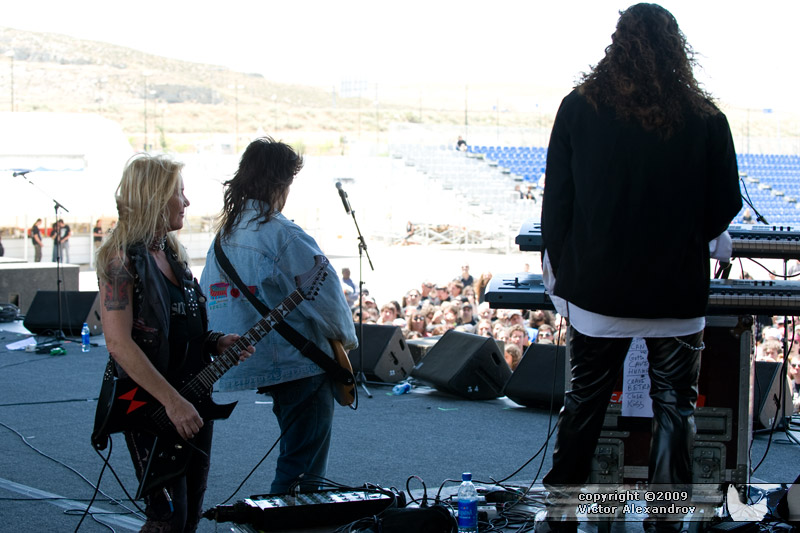 Lita Ford, Ron Thal, Michael T Ross