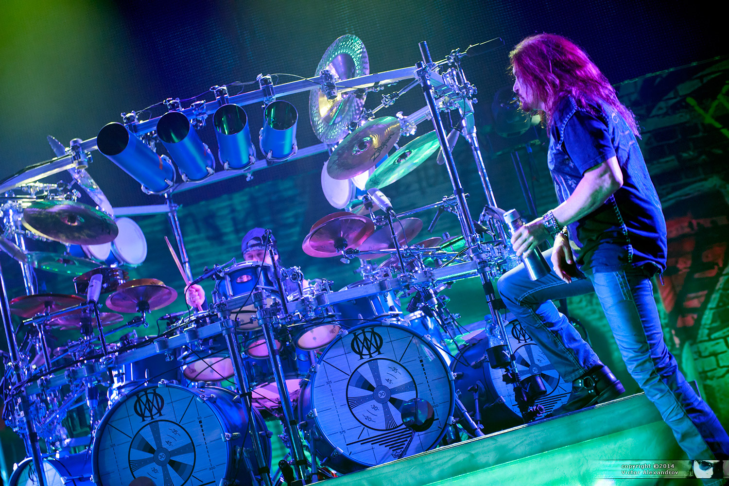Mike Mangini & James LaBrie