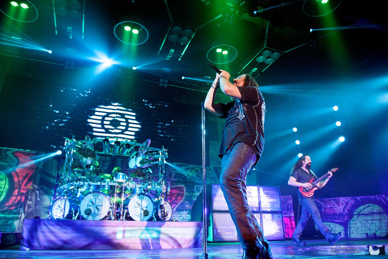 Mike Mangini, James LaBrie & John Petrucci