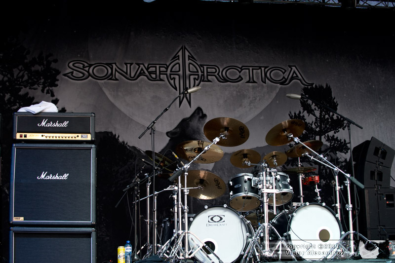 Sonata Arctica backdrop