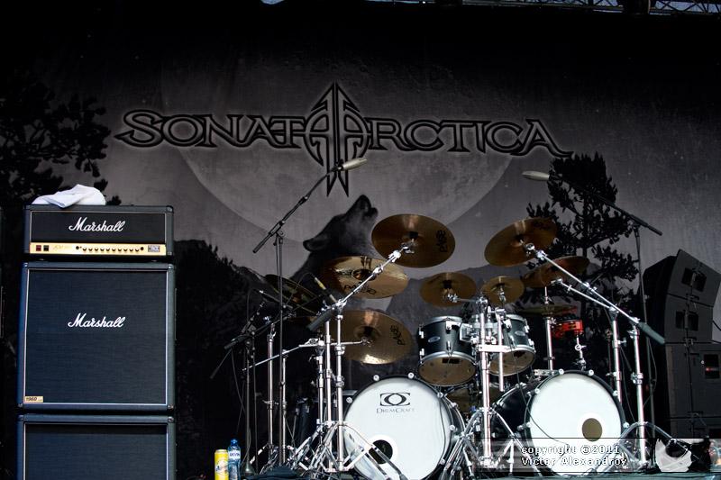 Sonata Arctica backdrop