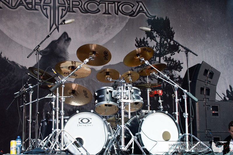 Sonata Arctica drums