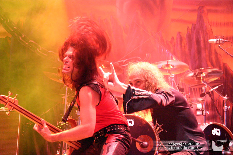 Rudy Sarzo & Ronnie James Dio