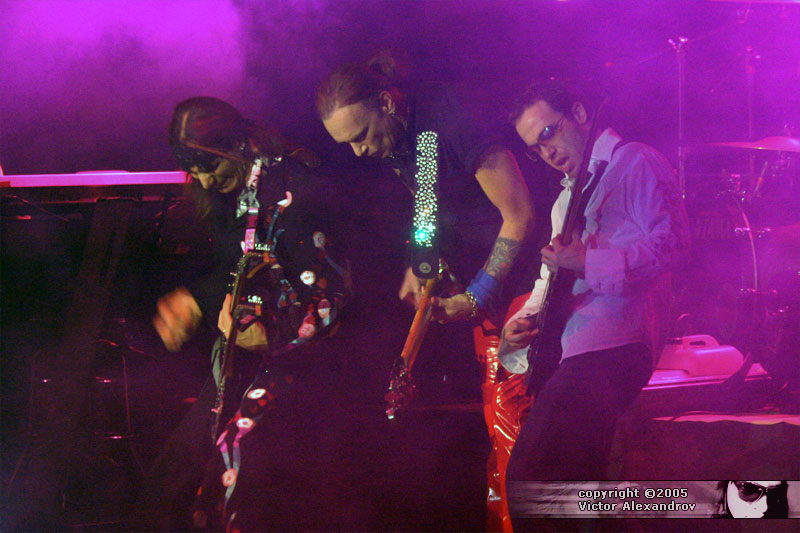 Steve Vai, Billy Sheehan & Dave Weiner